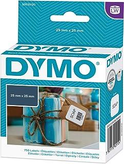 Dymo 标签 Weiß 25 x 25 mm 白色