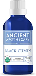 Black Cumin Organic Essential Oil from Ancient Apothecary, 30 mL - 100% Pure and Therapeutic Grade
