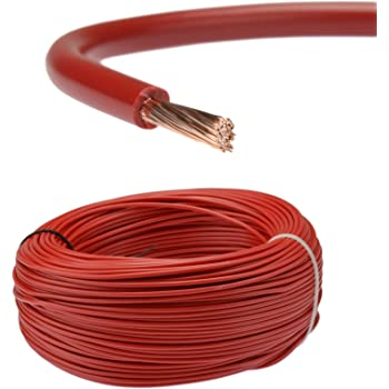 6 mm 53 A 12 V 24 V tri Rated Stranded Cable Panel Wiring Loom automobile camping-car