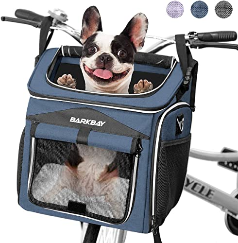 BARKBAY-Dog-Bike-Basket-Carrier