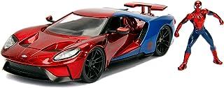 Jada Toys 253225002 - Marvel Spiderman 2017 Ford GT 1 -24, Die-Cast voertuig
