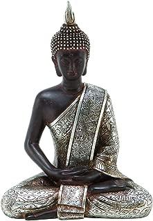 Deco 79 Thai Buddha Meditating Peace Harmony Statue, 8