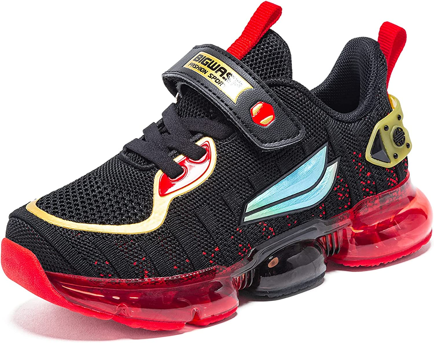 BIG WASP Kid Air Tennis Running Shoes Athletic Jogging Sport Lightweight Breathable Sneakers