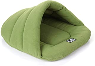None/Brand Pet Dog Cat Cave Bed Foldable Pet Sofa Cave House Warmer Winter Cozy Bed Hut Pets Cushion