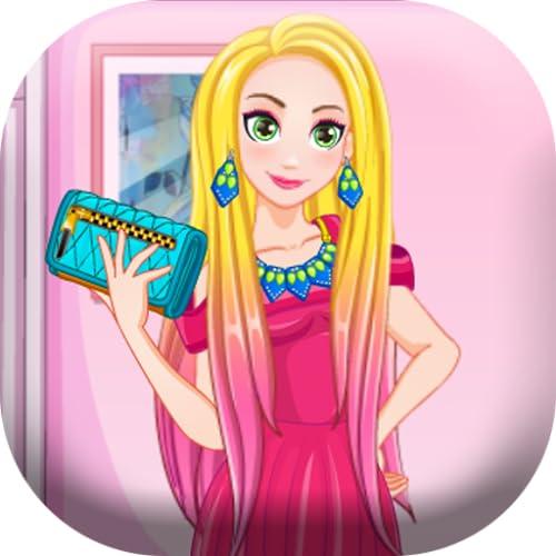 Dress up and hair Rapunzel