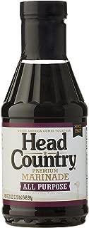 Head Country Bar-B-Q Sauce All Purpose Premium Marinade, 20 Ounce