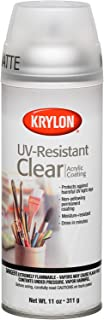 Krylon K01309 Gallery Series Artist and Clear Coatings Aerosol, 11-Ounce, UV-Resistant Matte Spray Paint, 11 ounce