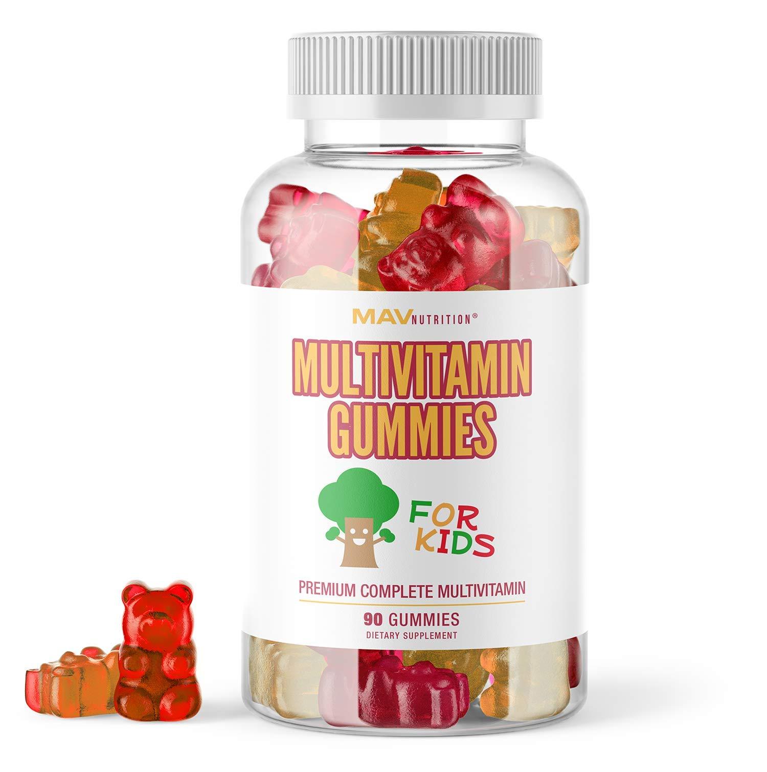 MAV Nutrition Multivitamins Kids Gummies