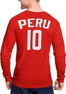 Peru Futbol Jersey - Peruvian National Soccer Unisex Long Sleeve Shirt