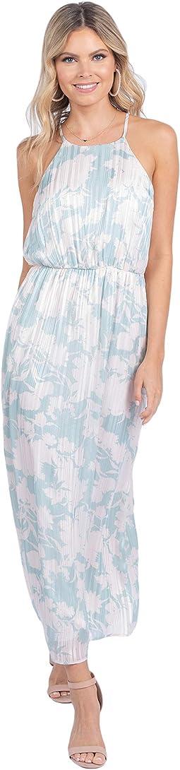 Haisley Spaghetti Strap Floral Maxi Dress