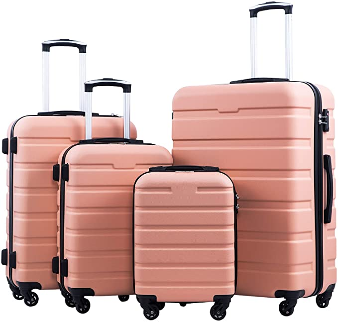 COOLIFE Spinner Luggage Set 3 Piece