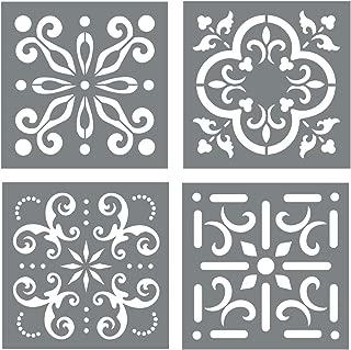 Best mexican tile stencil Reviews