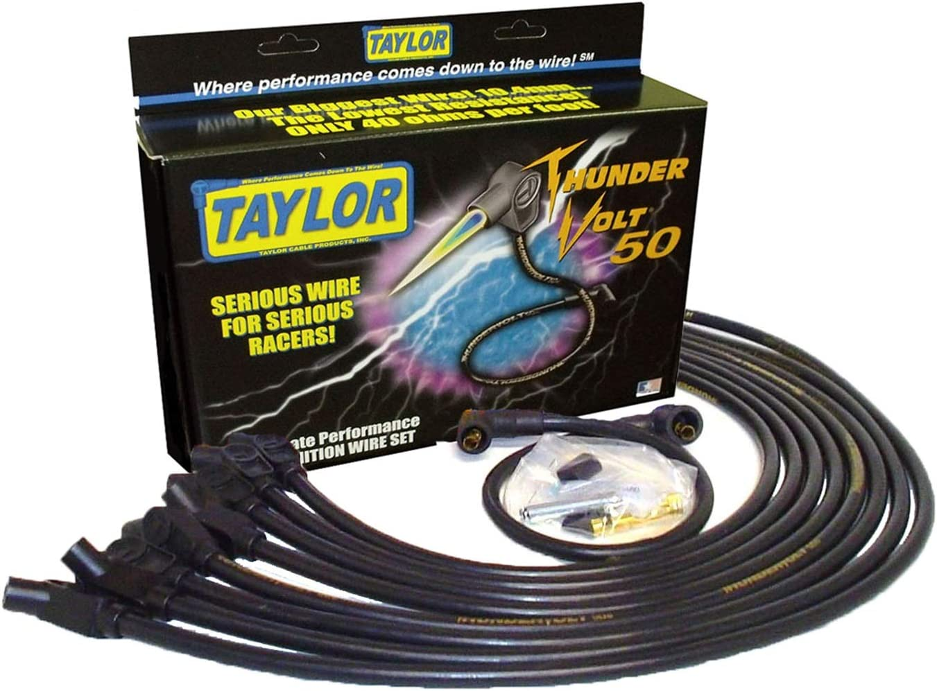 Taylor Super-cheap Cable 98032 ThunderVolt 50 Max 61% OFF Wire Set Ignition