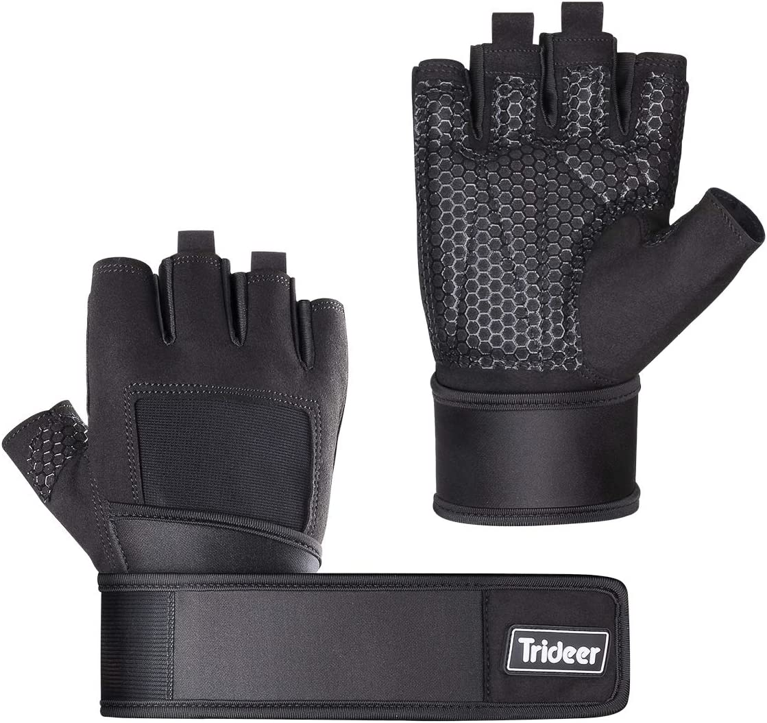 Trideer-Padded-Weight-Lifting-Gloves
