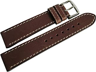 Di-Modell Jumbo 20mm Brown Leather Watch Strap