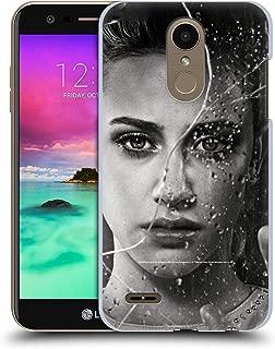 Official Riverdale Betty Cooper Broken Glass Portraits Hard Back Case Compatible for LG K10 / K11 / K11 Plus (2018)