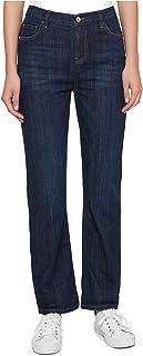 Tommy Hilfiger Women's Ripped Boyfriend Jeans Super Dark 4