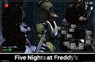 Trends International Five Nights at Freddys Show Stage Video Gaming Poster 34x22 inch