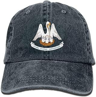 louisiana flag hat