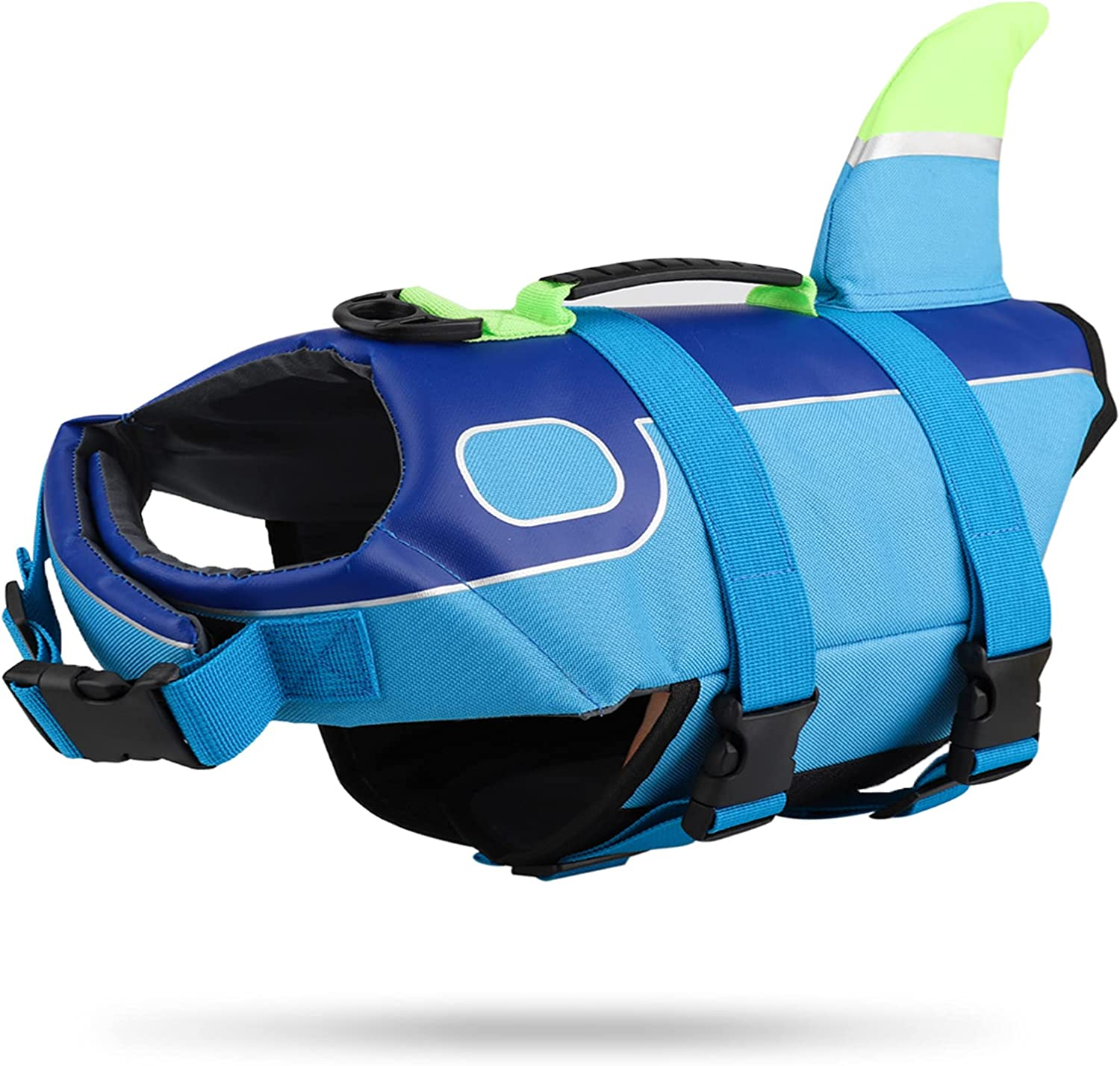 OFFicial site Dog Life Jacket Vest Adjustable Dogs with Shark Ranking TOP17 for