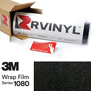 3M 1080 GP292 Gloss Galaxy Black 5ft x 19ft W/Application Card Vinyl Vehicle Car Wrap Film Sheet Roll