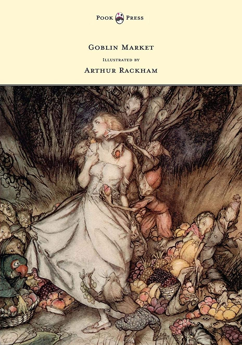 平均平方ラッドヤードキップリングGoblin Market - Illustrated by Arthur Rackham