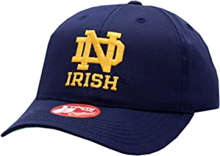 American Needle Notre Dame Youth Snapback Hat Twill Replica Blue
