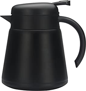 Crazycat 28 oz Coffee Carafe - Stainless Steel Vacuum Insulated with Leak Proof Lid