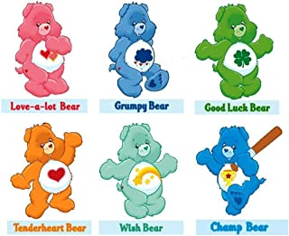 New Care Bears - 8 X 10 T-shirt Iron on Transfer for light fabric