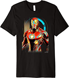 Infinity War Iron Man Digital Pose Premium T-Shirt