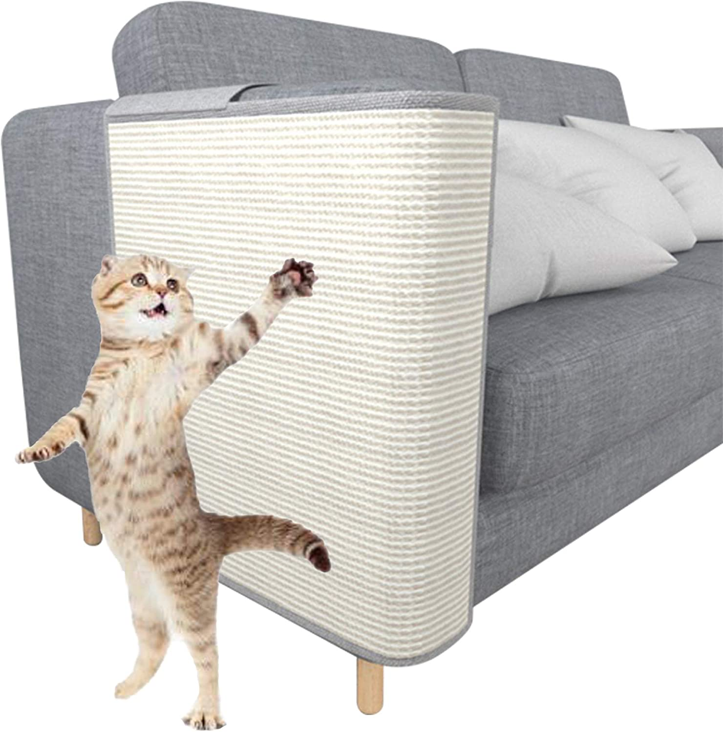 Cat Scratcher Couch Protector Now on sale - Ranking TOP12 Furniture Sisal Protecti Natural