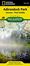 Saranac, Paul Smiths: Adirondack Park (National Geographic Trails Illustrated Map (746))