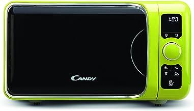 Candy EGO-G25DCG Microondas con Grill, 6 programas automáticos, 900 W / 1000 W, 25 litros, Verde