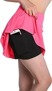 Womens Running Skorts Golf Tennis Workout Skirt