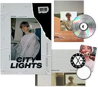 EXO BAEKHYUN 1st Mini Album - City Lights [ DAY ver. ] CD + Photobook + Lyrics Booklet + Folded Poster(On pack) + Photocard + FREE GIFT / K-POP Sealed