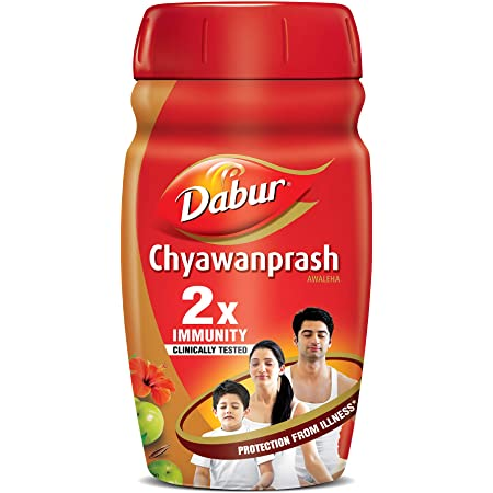 Dabur Chyawanprash: 2X Immunity ,  helps build Strength and Stamina-1Kg