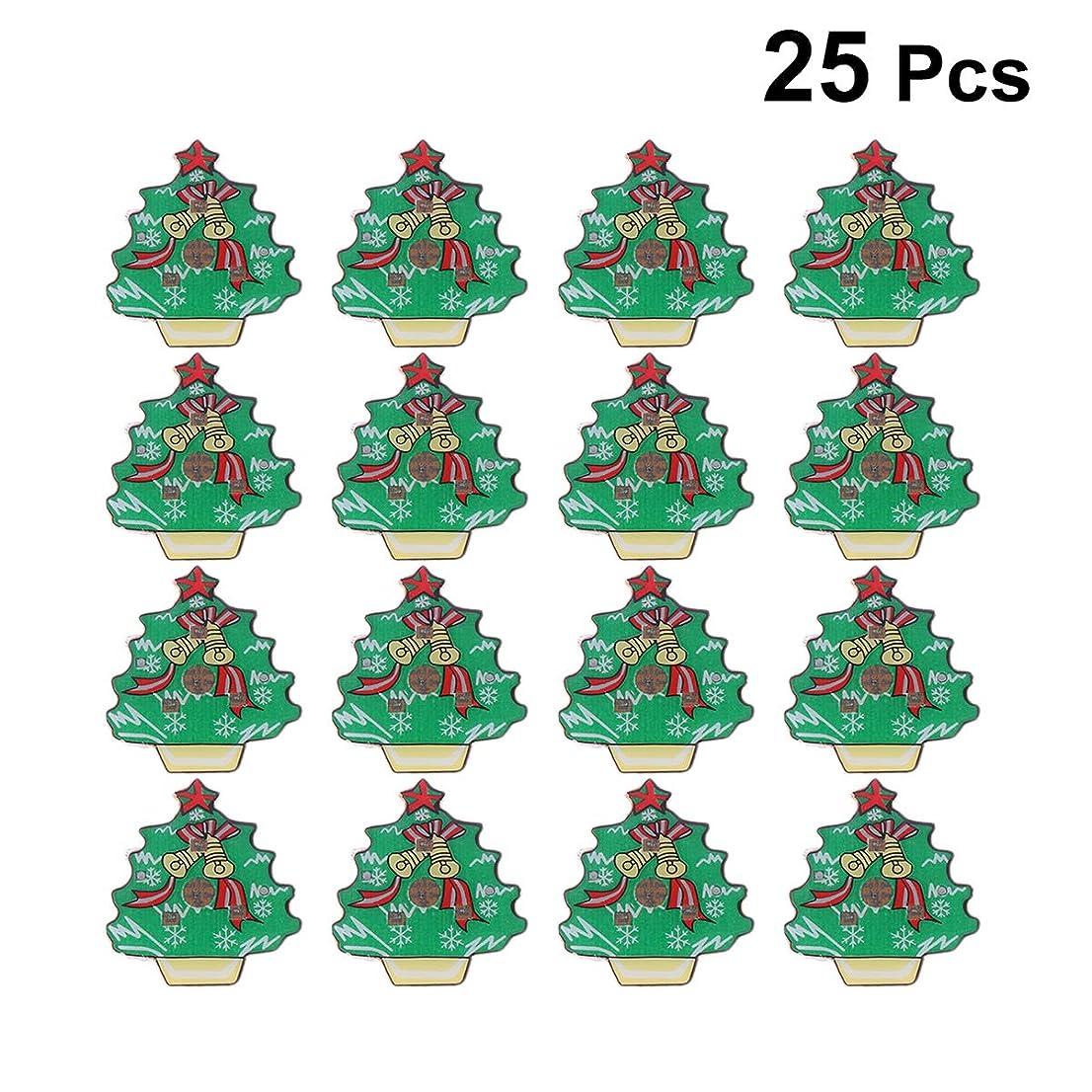 驚かす巻き取りピラミッドLEDMOMO LED ブローチ 光る キラキラ クリエイティブ 絶妙 ジュエリー ギフト 輝く バッジ シャツ用 ルミナス エナメルピン バックパック 服 鈴のクリスマスツリー 25Pc
