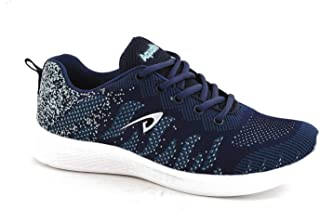 Aqualite Men MESH Navy Blue Sea Green Sports Shoes