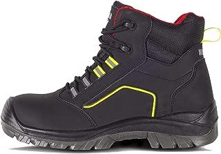 1 pieza Zapatillas de seguridad BAAK S3ROBERT2 Go /& Relax Go /& Relax negro//gris 36 negro//gris