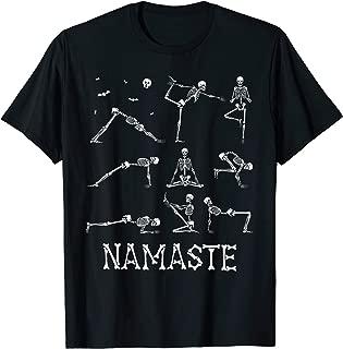 Namaste Yoga Skeleton Halloween Gifts T-Shirt