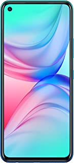 Infinix HOT 10 Dual SIM Mobile - 6.78 Inches, 128 GB, 4 GB RAM, 4G - Ocean WaveÂ