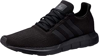 adidas, Swift Running Shoe, Men's Shoes, Black/Black/White, 7.5 US