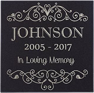 name plates for grave markers