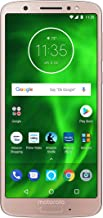 Moto G6 with Alexa Hands-Free – 32 GB – Unlocked (AT&T/Sprint/T-Mobile/Verizon) – Oyster Blush - Prime Exclusive Phone