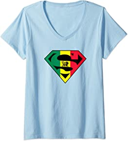 Super Reggae V-Neck T-Shirt