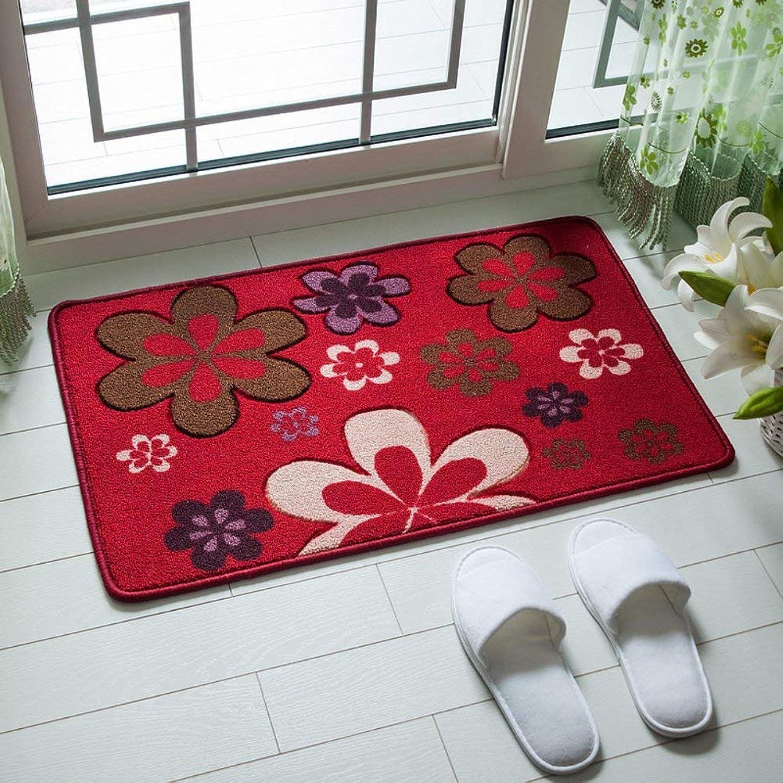 BDT Household Carpet Bathroom Mat, Rectangular Door Mat Carpet, Living Room Study   Restaurant Door Mat