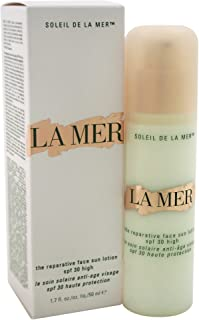 La Mer The Reparative Face SPF 30 High Sunscreen Lotion for Unisex, 1.7 Ounce