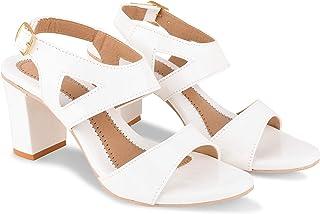 BULLFER Women Fashion Block Heels Sandal