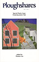 Ploughshares Spring 1985 Guest-Edited by Thomas Lux