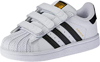 adidas Baby Boys' Superstar CF Shoes, Footwear White/Core Black/Footwear White, 24-36 Months (24-36 Months)